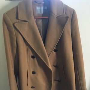 ASOS wool blended coat in Camel/ SZ 10